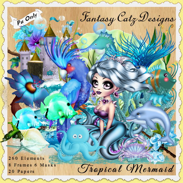 FCD Tropical Mermaid TS Kit